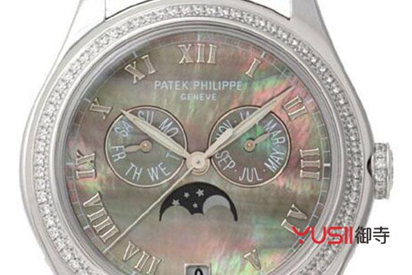 百达翡丽超级复杂计时万年历手表