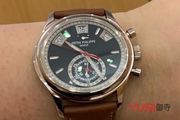 百达翡丽的铂金腕表回收价格