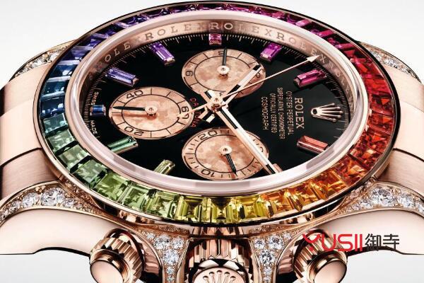 迪通拿彩虹圈116595RBOW手表