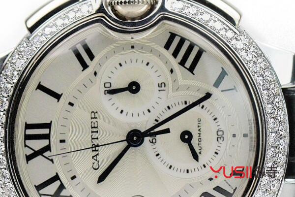 镶嵌钻石的手表
