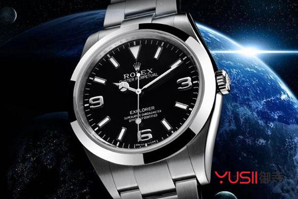 劳力士m214270-0003 黑盘手表