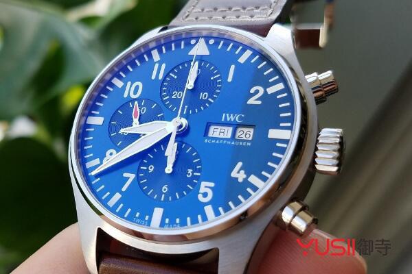 北京二手万国飞行员系列IW377714手表回收多少钱