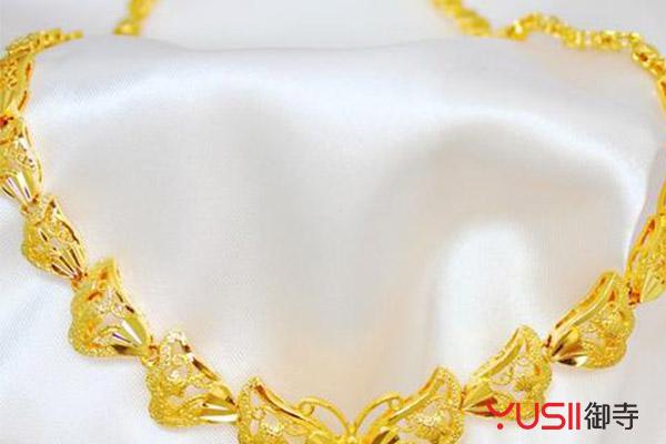 黄金首饰回收价格
