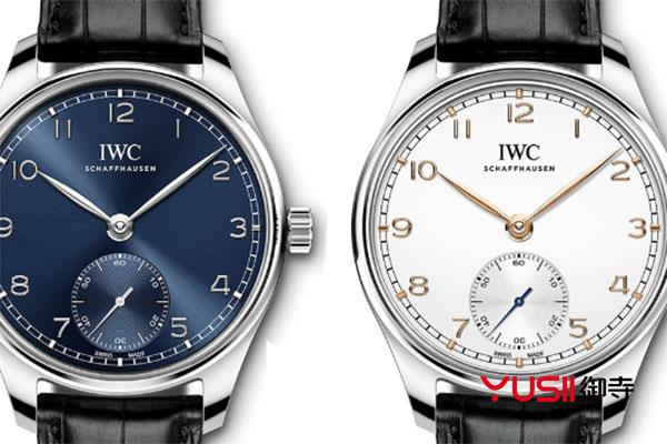 万国手表蓝色表盘