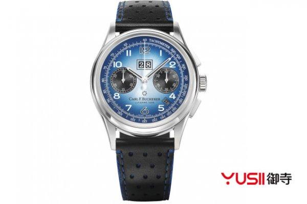 <b>宝齐莱传承系列年历双盘计时腕表,二手手表去哪卖呢?</b>